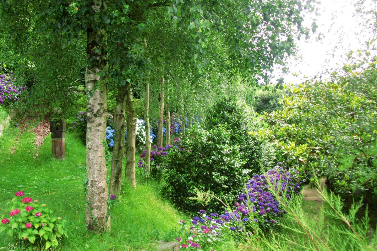 Jardines privados en Asturias