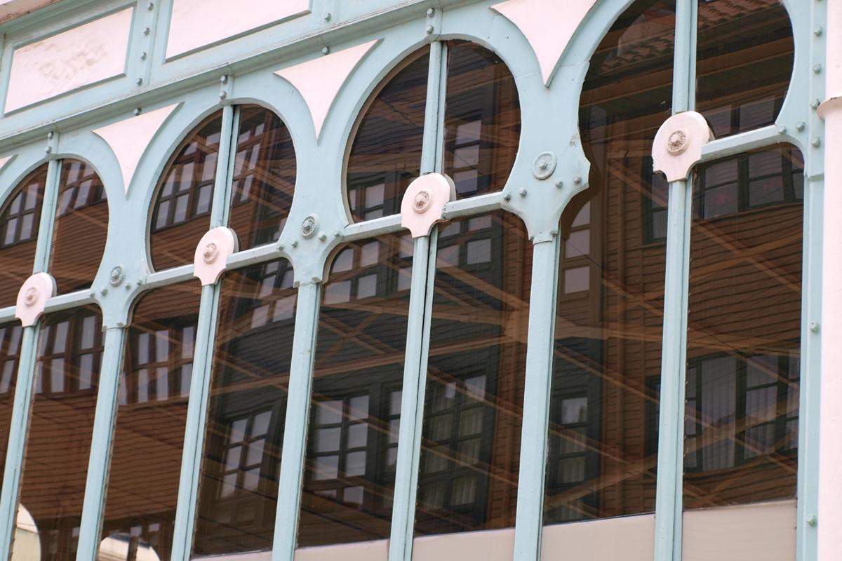 Imagen del mercado de El Fontán, Oviedo