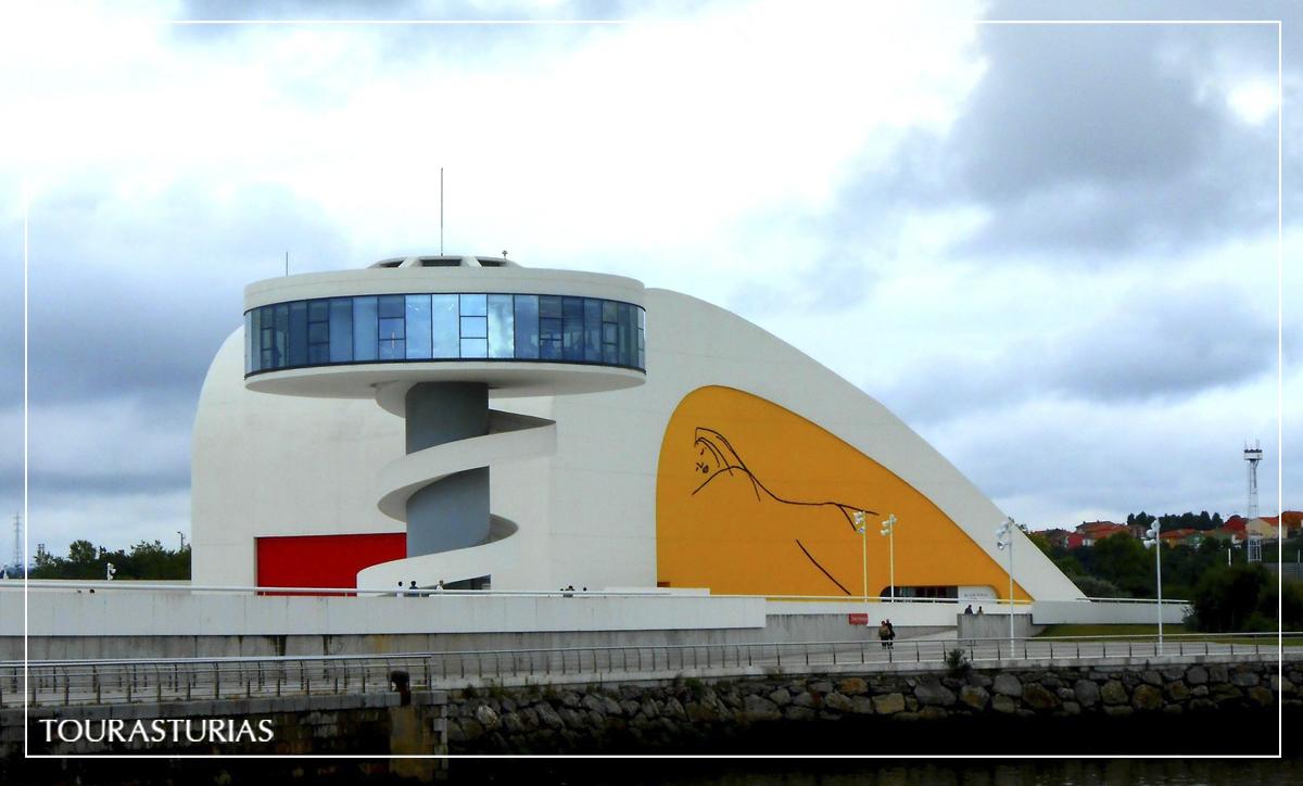 Descubriendo el Centro Niemeyer de Avilés