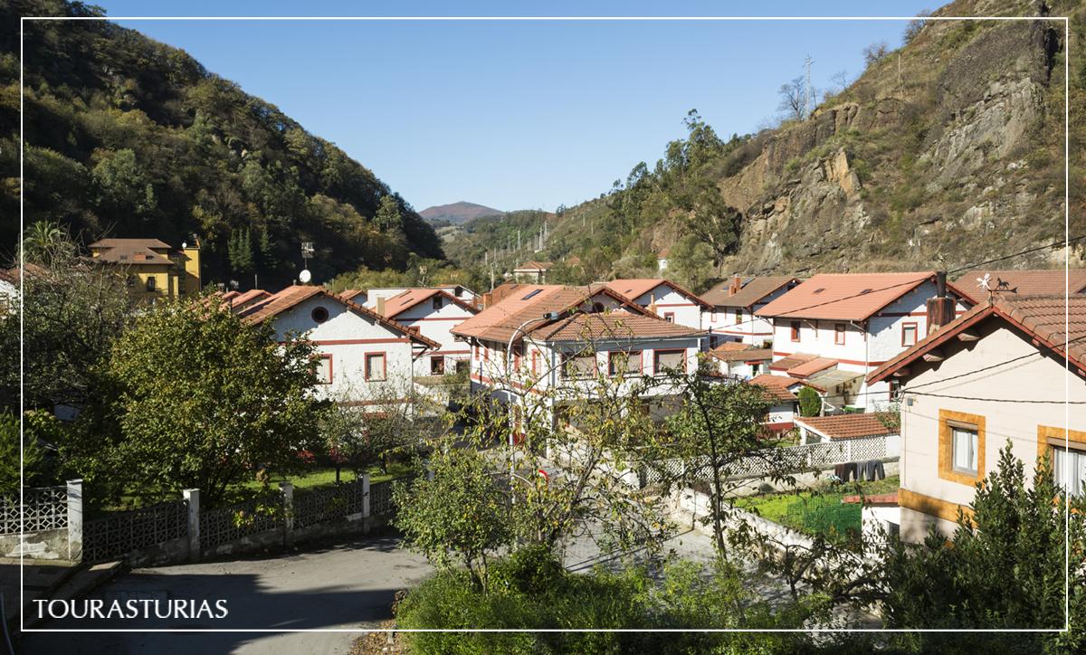 Visita a Bustiello, poblado minero en Asturias