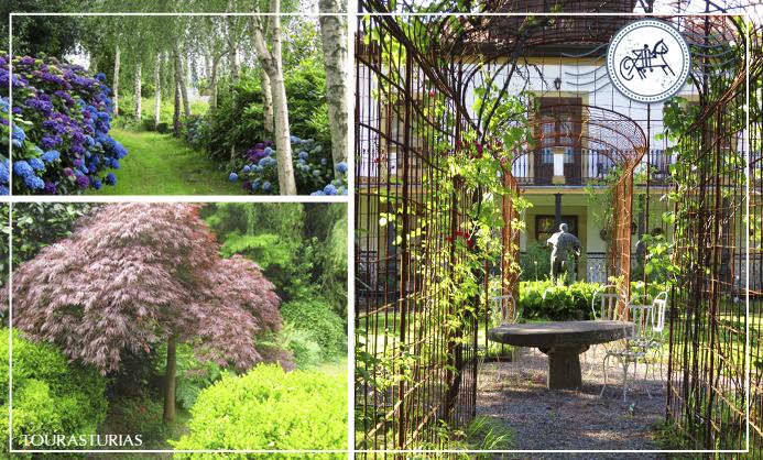 "3 jardines ""casi"" secretos en Asturias"