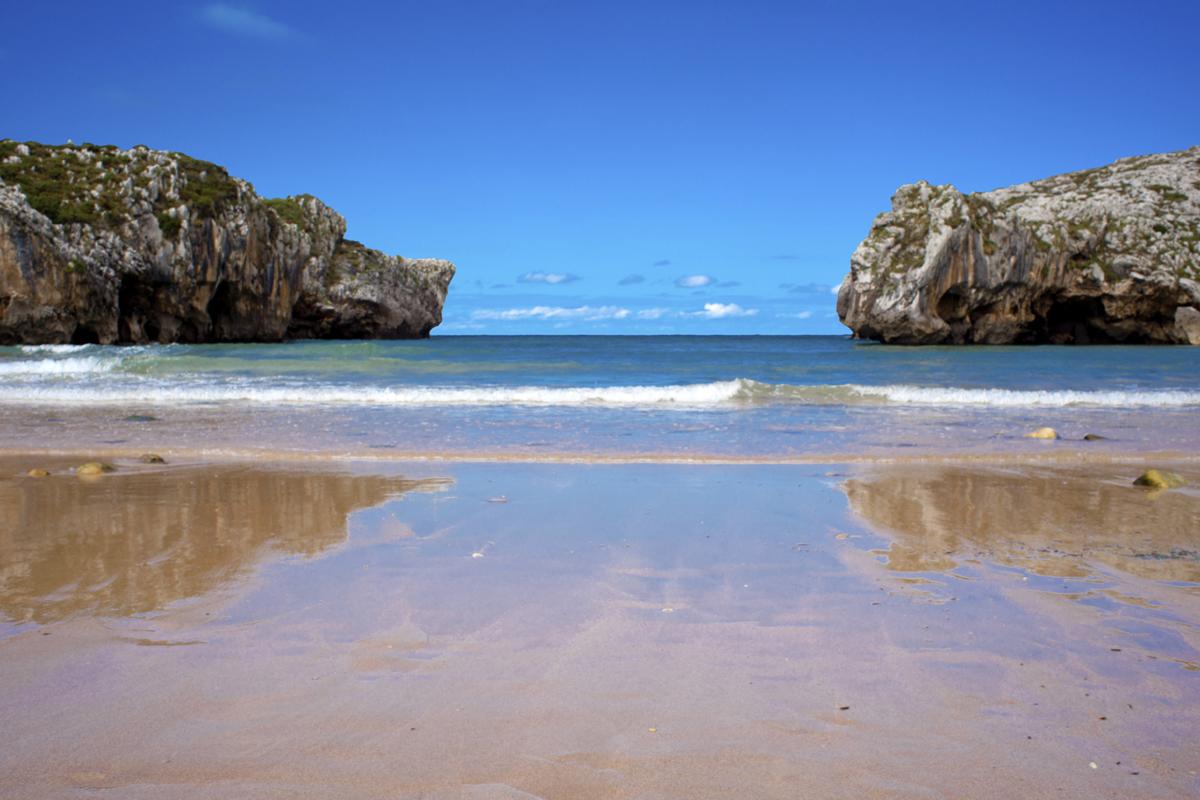 Playa del oriente de Asturias